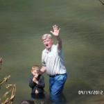 Baptizing WV 6