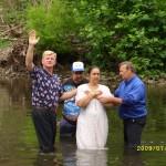 Baptizing WV 8