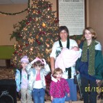 One of first families ministered to in WV