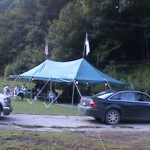 Tent meeting Rhodell WV