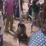Africa Making Mud Bricks