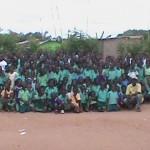 Africa Teachers And Children Of Christian School