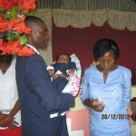 Destine From Haiti Baby Dedication For Their Son Prayed For A Baby For 10 Years