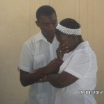 Destine From Haiti Baptizing