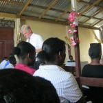 Destine From Haiti Dean Preaching In His Church