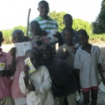 Destine From Haiti Giving Out Tracts