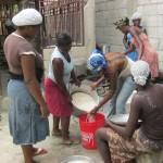 Destine From Haiti Ladies Cooking Lunch
