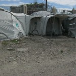 Destine From Haiti UN Tent City From Earthquake