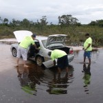 Guyana Roads Need 4 wheel Drive Vehicle
