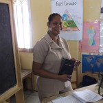 Guyana Teacher Presented Bible