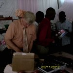 Haiti Giving Pastors Tracts New Testaments And Neck Ties
