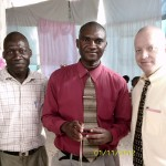 Haiti Pastor Destine And His Brother In Law And Craig Church