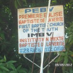 Haiti Pastor Destines Church Name