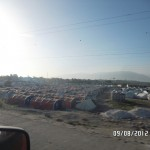 Haiti Tent City From Earthquake