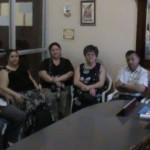 Honduras Meeting With Mayor