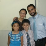 Pastor Robles Family In Panama