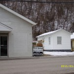 Our House In Bradshaw WV beside Church