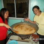 Cooking Lunch In Philippines
