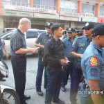 Giving Tracts To Police In Philippines