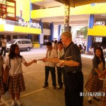 Giving Tracts To School Children Philippines
