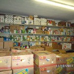 Mission Project Food Pantry Stocked By NC Churches