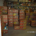 Mission Project Stock Food Pantry WV
