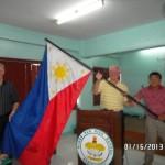Philippines Flag In School