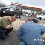 Praying With Homeless