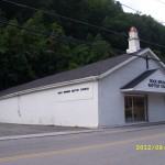 WV Rock Springs Baptist Church In Bradshaw - Side View