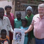 Africa Emanuel Family With Robert Price Newspaper Article From Elkin NC