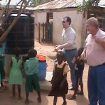 Africa Robert Price David Dyer Playing With Children At Christian School