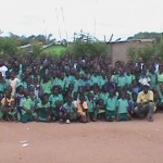 Africa Teachers And Children Of Christian School