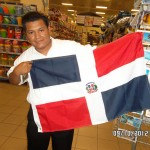 Dominican Republic Flag Pastor Lopez