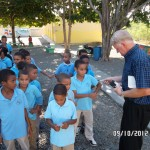 Dominican Republic Schools Children Get Pens Pencils Tracts