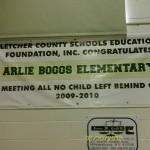 Kentucky Arlie Boggs Elementary School