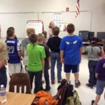 Mission Baptist Church Good News Club Singing