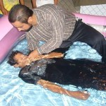 Pastor Juan Robles Baptizing In Panama